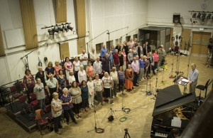 Abbey Road choir from above